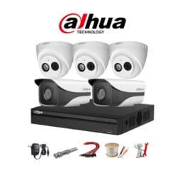 Trọn bộ 5 camera IP Dahua 2MP