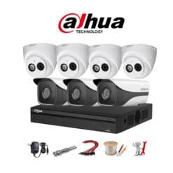 Trọn bộ 7 camera IP Dahua 2MP chính hãng, Giá rẻ