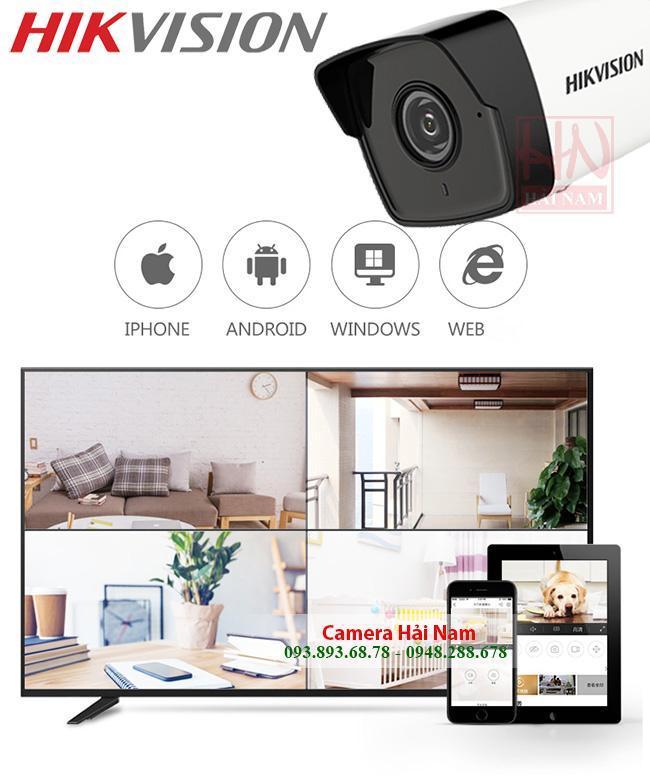 Trọn bộ 6 Camera Hikvision 5MP