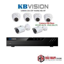 Trọn bộ 6 camera Kbvision 5MP