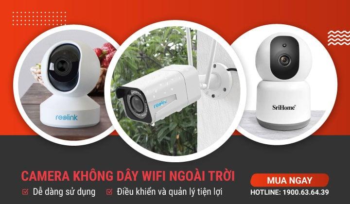 Camera Wifi Không Dây Hải Nam