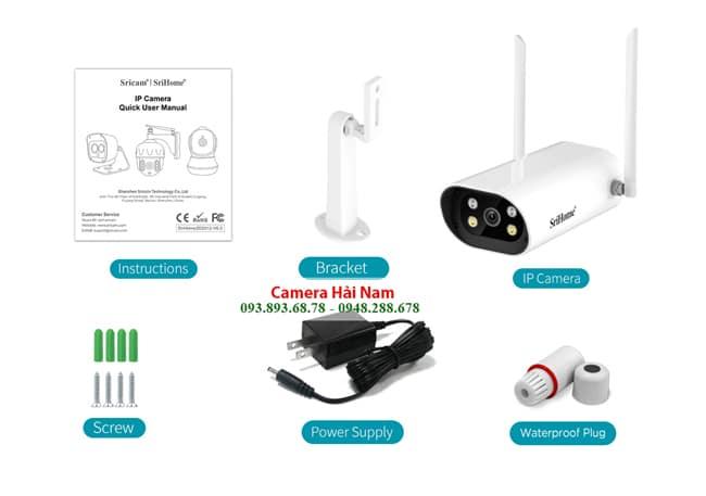Camera IP Wifi Srihome SH037 4MP