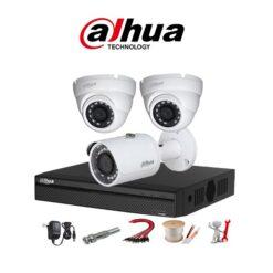 trọn bộ 3 camera Dahua 5MP