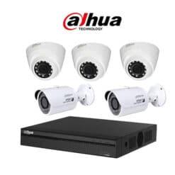 Trọn bộ 5 camera Dahua 5MP