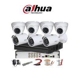trọn bộ 7 camera Dahua 5MP